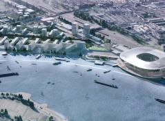 Rotterdam kiest voor nieuw stadion met gebiedsontwikkeling.